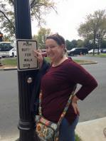 Just being goofy in DC