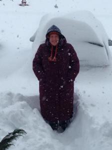 My first blizzard!