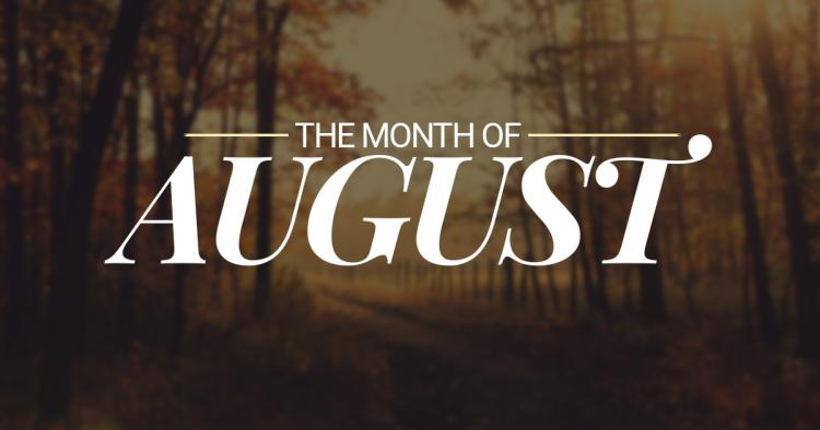 month-of-august