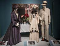 "Joyce Franklin curated the ""Dressing Downton"" exhibit at Muzeo in Anaheim which focuses on costumes of the popular TV show Downton Abbey. The ""Dressing Downton"" was photographed at Muzeo on Thursday, Febuary 9, 2017 in Anaheim. in Anaheim on Thursday, February 9, 2017. (Photo by Ana Venegas, Orange County Register/SCNG)"