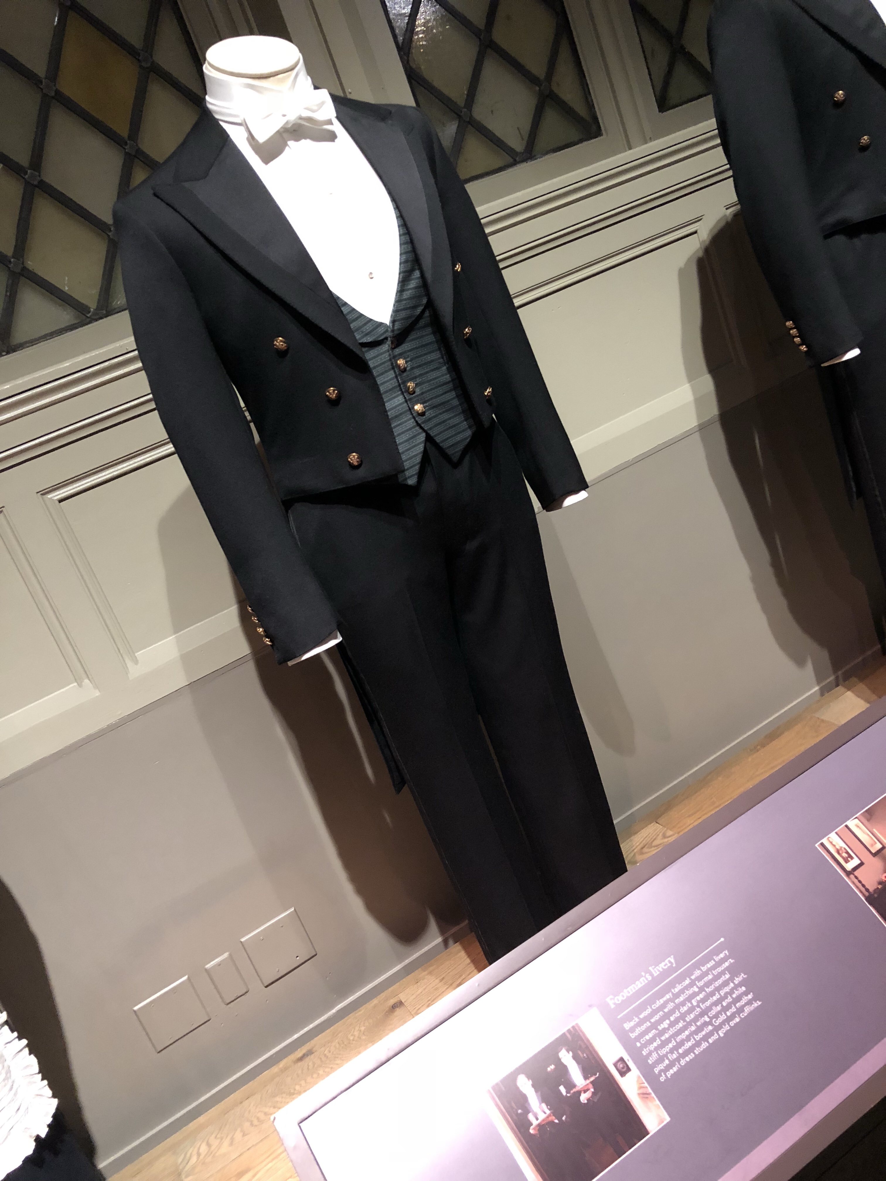 The first exhibit past the green baize door and the staircase were costumes worn by Anna for both house work and her duty as a ladies maid as well as the ... & Downton Abbey: The Exhibition | Nat Your Average Story