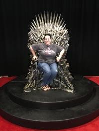 Sitting on the Iron Throne