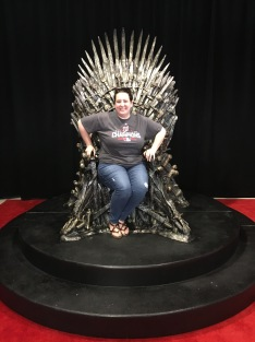 Sitting on the Iron Throne