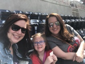 Nationals game with Rachel & Sophia!