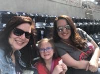 Nationals game with Rachel & Sophia!