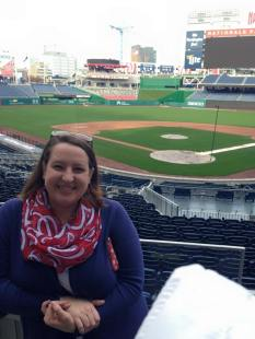 Touring Nationals Park!