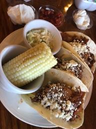 Pork Tacos & Corn
