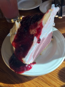 Blackberry Ice Cream Pie