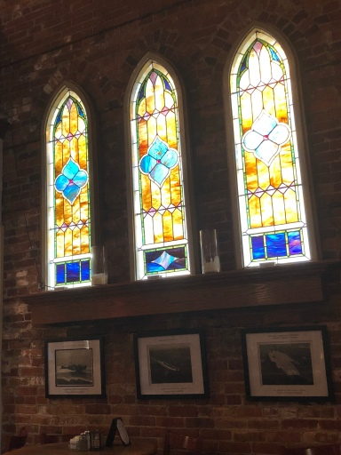 Stained glass windows!