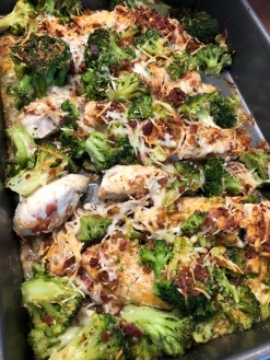 Bacon & Cheddar Chicken & Broccoli