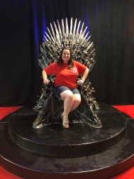 Sitting on the Iron Throne!