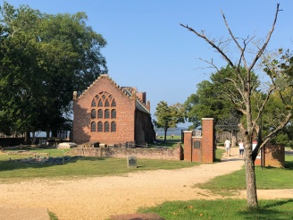 The church at Jamestown