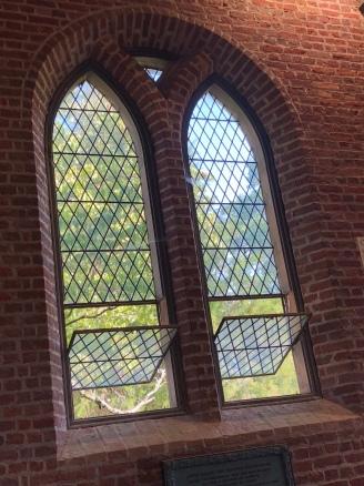 Windows of the church!