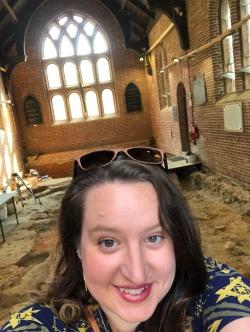 Selfie in the Sanctuary