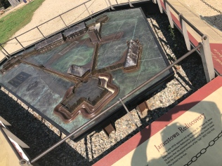 Layout of the Fort at Jamestown.