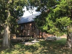 The church at Jamestown.