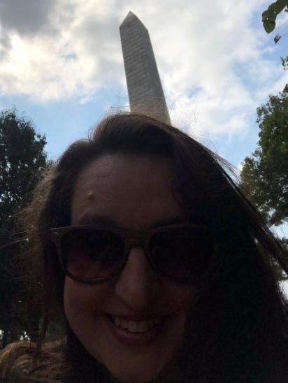 Monument selfie!