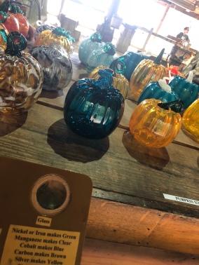 Glass Pumpkins!
