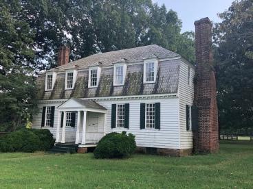 The house where Cornwallis surrendered.