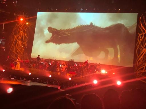 Drogon in battle!