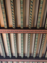 The ceiling of the Music Room