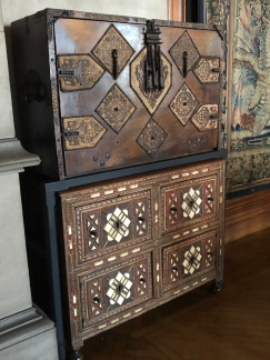 A chest in the Tapestry Room