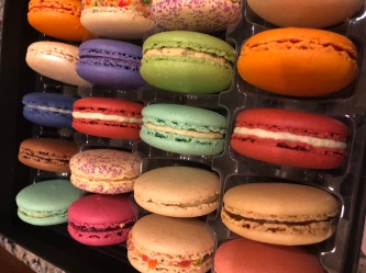 All the macarons from Olivia Macaron!